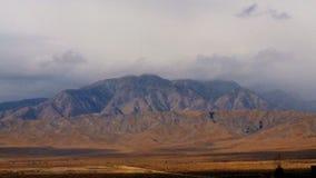 Desert Mountain Time Lapse. Time Lapse of mountain in California desert stock video