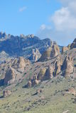 Desert mountains Stock Images