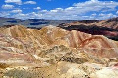 Desert mountains. In eastern Turkey Stock Image