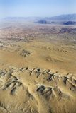 Desert with mountains. Royalty Free Stock Photography