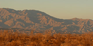 Desert Mountains. The desert mountains of California near the Salton Sea Royalty Free Stock Image