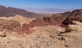 Desert mountains and cliffs. Royalty Free Stock Photography