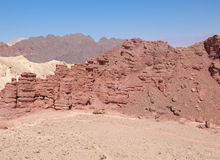 Desert mountains and cliffs. Stock Photography