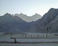 Desert. Mountains in desert. Egypt Hurgada Travel and safari royalty free stock photography