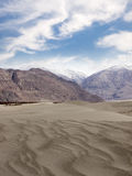 Desert and mountains in Ladakh Region, India Stock Photography