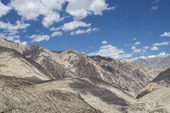Desert mountains of Little Tibet Stock Photo