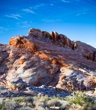 Desert mountains. This is a photo of a nevada mountain range Stock Images
