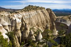 Desert Mountains and spires. Stock Images