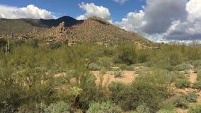 Desert moving landscape timelapse,Arizona. Desert moving landscape timelapse, North Scottsdale,Arizona,USA stock video