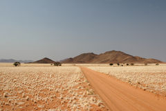 Desert in Namibia. Desert landscape in the Tiras Mountains in Namibia royalty free stock photography