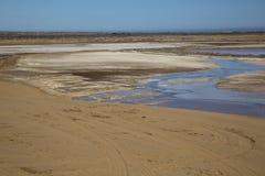 Desert in Namibia Stock Photography