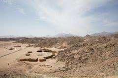 Desert nature in egypt travel Stock Image