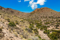 Desert near Cabo del Gata, Almeria, Spain Stock Photos