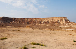 Desert near the dead sea Royalty Free Stock Image
