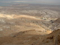 Desert near Masada Royalty Free Stock Image