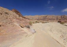 Desert. Negev near Eilat, Israel Stock Image