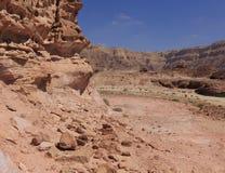 Desert. Negev near Eilat, Israel Royalty Free Stock Image