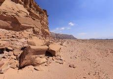 Desert. Negev near Eilat, Israel Royalty Free Stock Images