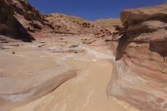Desert. Negev near Eilat, Israel Royalty Free Stock Photos
