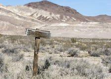 Desert. In the desert of nevada Royalty Free Stock Images