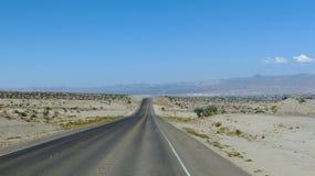 Desert in Nevada, United States Royalty Free Stock Image
