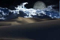 Desert Night Royalty Free Stock Photo
