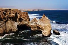 Desert and ocean Stock Image