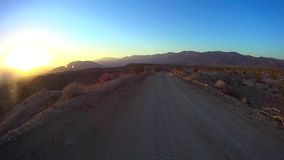 Desert Offroad - Fonts Point 7 Anza Borrego Desert Ca stock footage