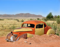 Desert Oldtimer Stock Photo