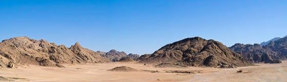 Desert panorama Royalty Free Stock Photography