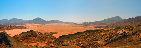 Desert panorama Stock Images