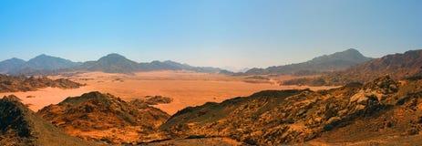 Desert panorama Stock Images