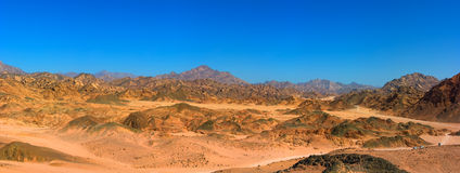 Desert panorama Royalty Free Stock Photo