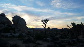 Desert panoramic view at sunset in the mountains 4k stock video