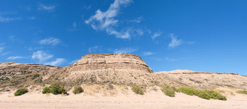 Desert in Patagonia. Royalty Free Stock Photography