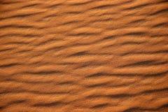 Desert patterns. Sand Patterns in the Sahara Desert, Morocco stock image