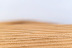 Desert patterns landscape Royalty Free Stock Image