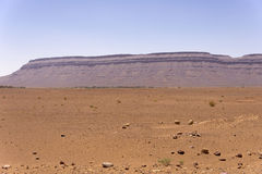 Desert plain near the Sahara Stock Photos