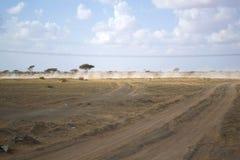 Desert plains Stock Photography