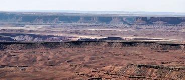 Desert Plateaus Stock Photo