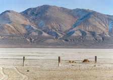 Desert playa in Northern Nevada Royalty Free Stock Photography