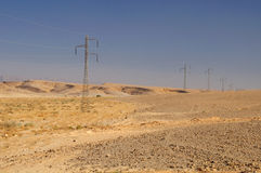 Desert power. Stock Photography