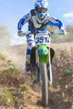 Desert Racer Downhill Stock Photography