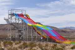 Desert Racers slide at Wet n Wild, in Las Vegas, NV on April 24, Stock Photos
