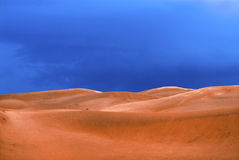Desert before a rain Royalty Free Stock Image