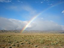 Desert Rainbow royalty free stock photo