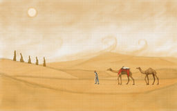 Desert of Rajasthan Stock Photo