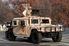 Desert ranger battalion Stock Images