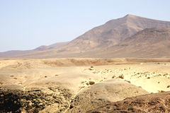 The desert region Stock Images