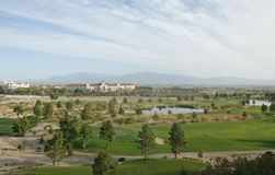 Desert Resort Golf Course Stock Image